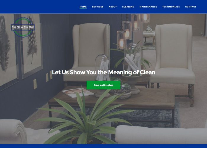 the clean company slider