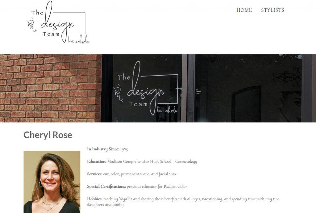 The Design Team - Hair & Nail Salon - bio